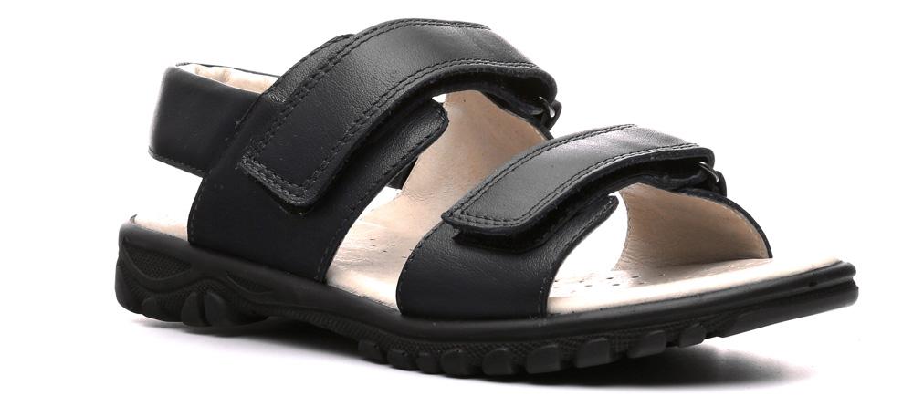 Сандалии600002ТССандалии для детей Zorg-D линии Weekend — простая и непритязательная обувь. Зато она может похвастаться высоким качеством и натуральной кожей. Благодаря классическому цвету их можно сочетать с детским гардеробом практически любой расцветки. Застежки-липучки делают процесс обувания и снятия сандалий удобным, быстрым и увлекательным.