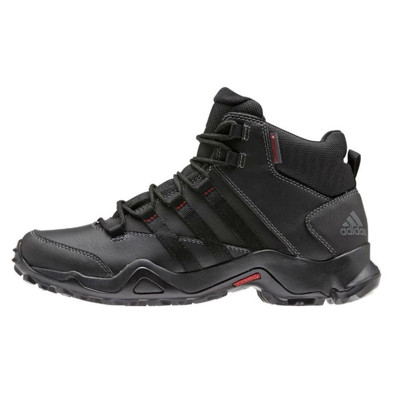 КроссовкиB22838Мужские кроссовки CW AX2 Beta Mid от adidas - удобство и функциональность трекинговой обуви в стильном дизайне. Надежный гибкий верх выполнен из износостойкой синтетической кожи и дополнен бамперами на мыске и на пятке для дополнительной защиты стопы. Модель с технологичным наполнителем PrimaLoft сохранит ноги сухими и теплыми даже во влажном состоянии, а цепкая подошва с тракторным профилем Traxion поможет сохранить уверенность даже на скользких покрытиях. Удобная текстильная подкладка и литая анатомическая стелька с антимикробным покрытием обеспечивают наибольший комфорт. Амортизирующая вставка Adiprene по всей длине промежуточной подошвы обеспечивает превосходную амортизацию при ударных нагрузках. Завышенное голенище предназначено для лучшей устойчивости стопы. Классическая шнуровка надежно зафиксирует модель на ноге.