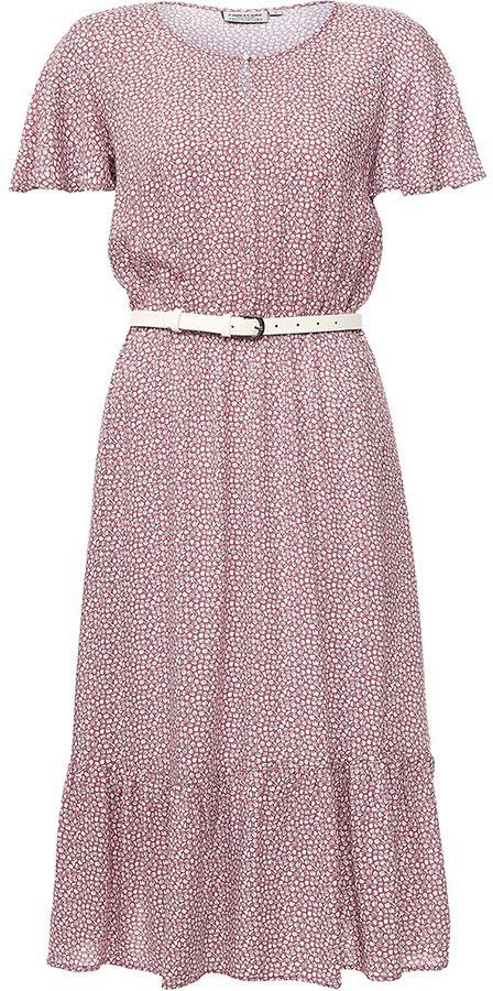 ПлатьеS17-11050_115Платье Finn Flare выполнено из вискозы. Модель с круглым вырезом горловины и короткими рукавами.