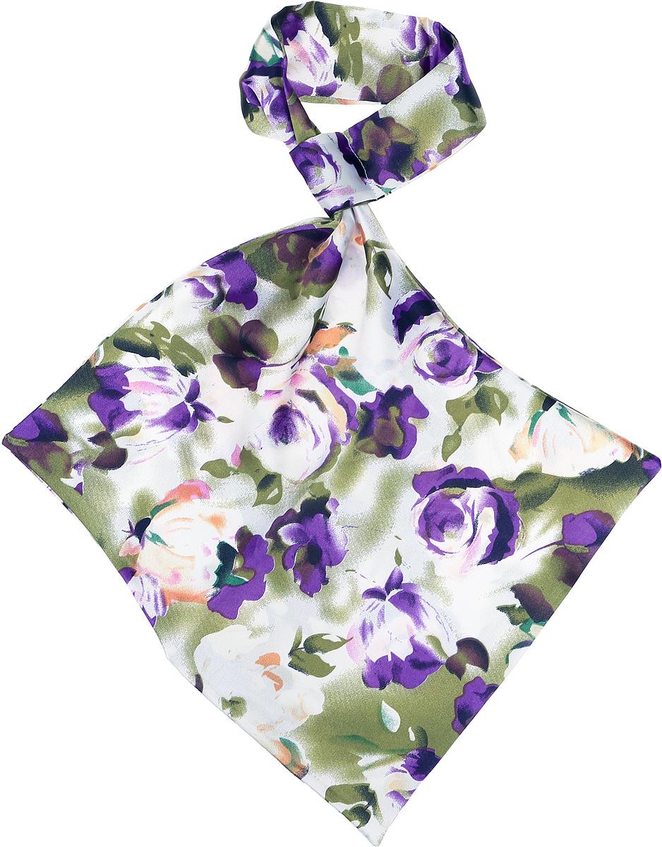 ПалантинRo02А203/21Палантин - франтон (французкий галстук). Принт.