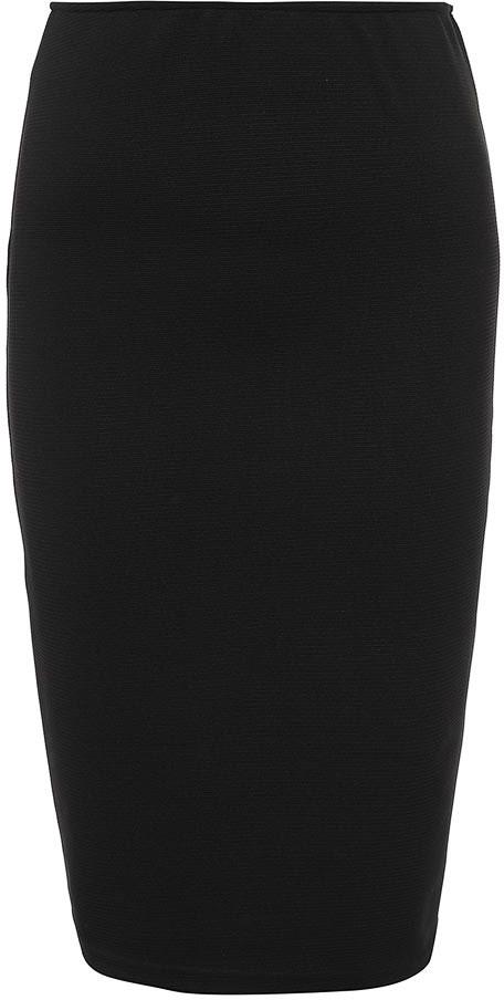 ЮбкаB477039_BlackЮбка женская Baon выполнена из полиэстера и эластана. Модель длинной миди.