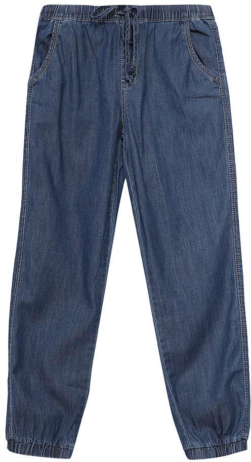 ДжинсыPJ-535/053-7233Стильные джинсы для девочки Sela выполнены из натурального хлопка. Джинсы свободного кроя и стандартной посадки на талии имеют широкий пояс на мягкой резинке, дополнительно регулируемый шнурком. Модель дополнена двумя втачными карманами спереди и двумя накладными карманами сзади. Низ брючин собран на резинку.