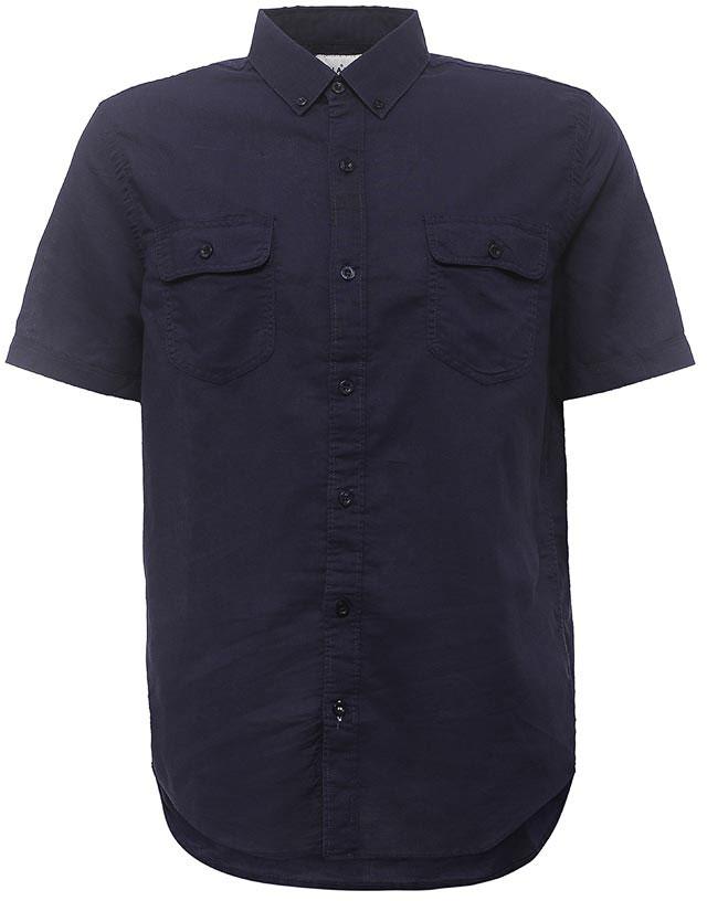 РубашкаHs-212/763-7213Стильная мужская рубашка Sela выполнена из хлопка с добавлением льна. Модель прямого кроя с короткими рукавами и отложным воротничком застегивается на пуговицы и дополнена двумя накладными карманами с клапанами на груди. Воротничок дополнен пуговицами. Универсальный цвет позволяет сочетать модель с любой одеждой.