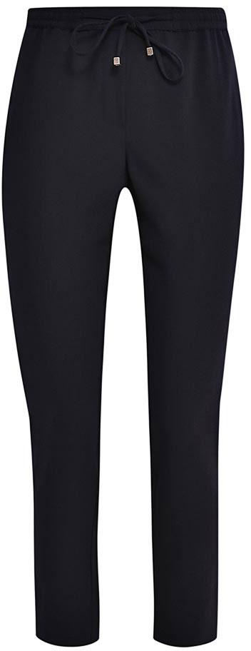 БрюкиP-115/805-7132Стильные укороченные брюки Sela, изготовленные из качественного материала, станут отличным дополнением гардероба в летний период. Брюки зауженного силуэта и стандартной посадки на талии имеют широкий пояс на мягкой резинке, дополнительно регулируемый тесьмой. Спереди модель дополнена двумя втачными карманами.