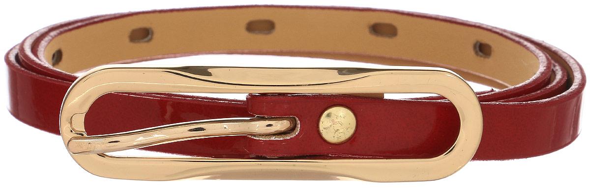 Ремень1100-1140-0000Стильный женский ремень Milana изготовлен из натуральной кожи. Закругленная пряжка выполнена из металла, она позволит легко и быстро зафиксировать ремень и отрегулировать его длину. Элегантный ремень превосходно сочетается с любыми нарядами. Уважаемые клиенты! Обращаем ваше внимание на тот факт, что размер ремня, доступный для заказа, является его длиной.