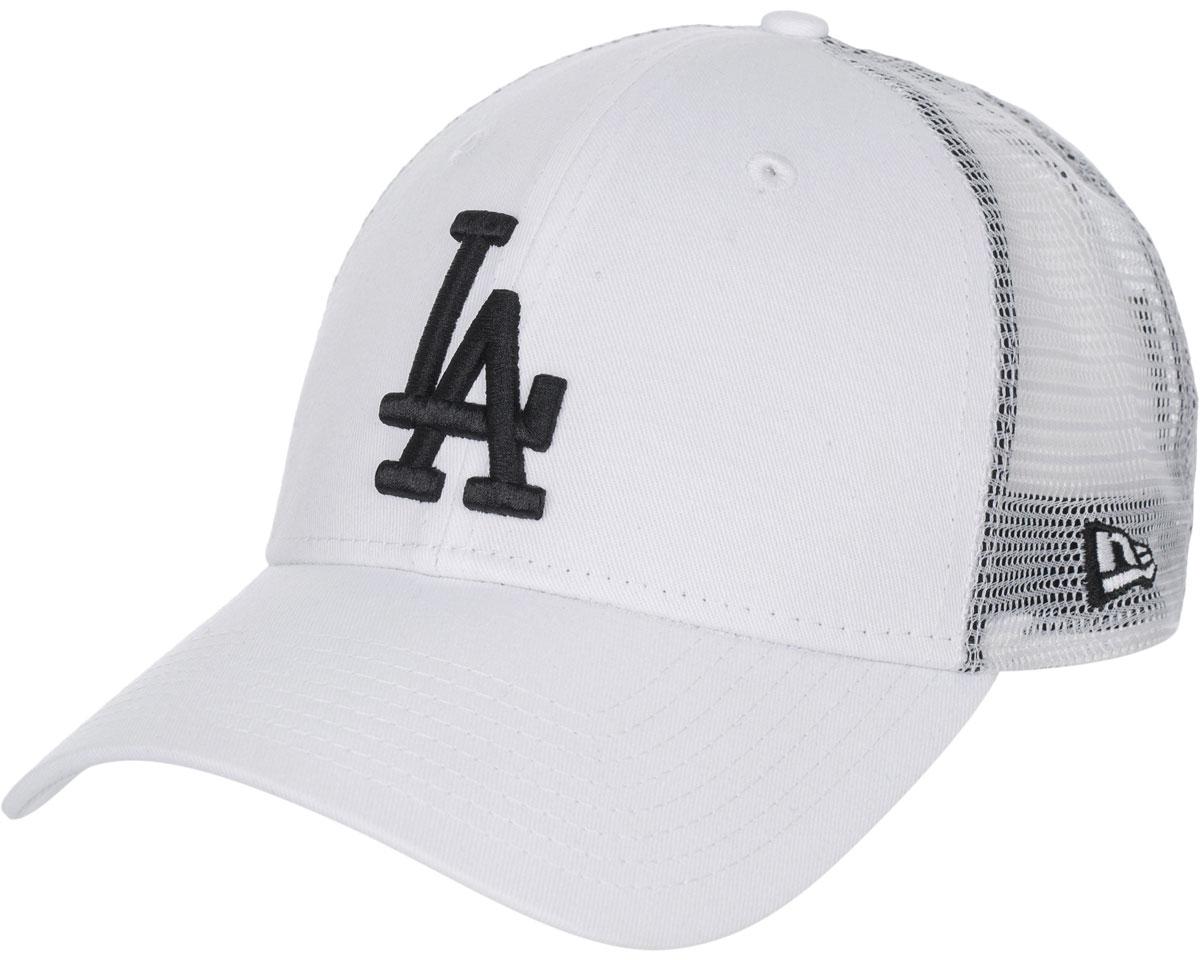 Бейсболка11379840-WHTСтильная бейсболка New Era, выполненная из высококачественного материала, идеально подойдет для прогулок, занятий спортом и отдыха. Изделие оформлено объемным вышитым логотипом LA и логотипом бренда New Era, сзади купол кепки исполнен из сетки для большей воздухопроницаемости. Бейсболка надежно защитит вас от солнца и ветра. Эта модель станет отличным аксессуаром и дополнит ваш повседневный образ.
