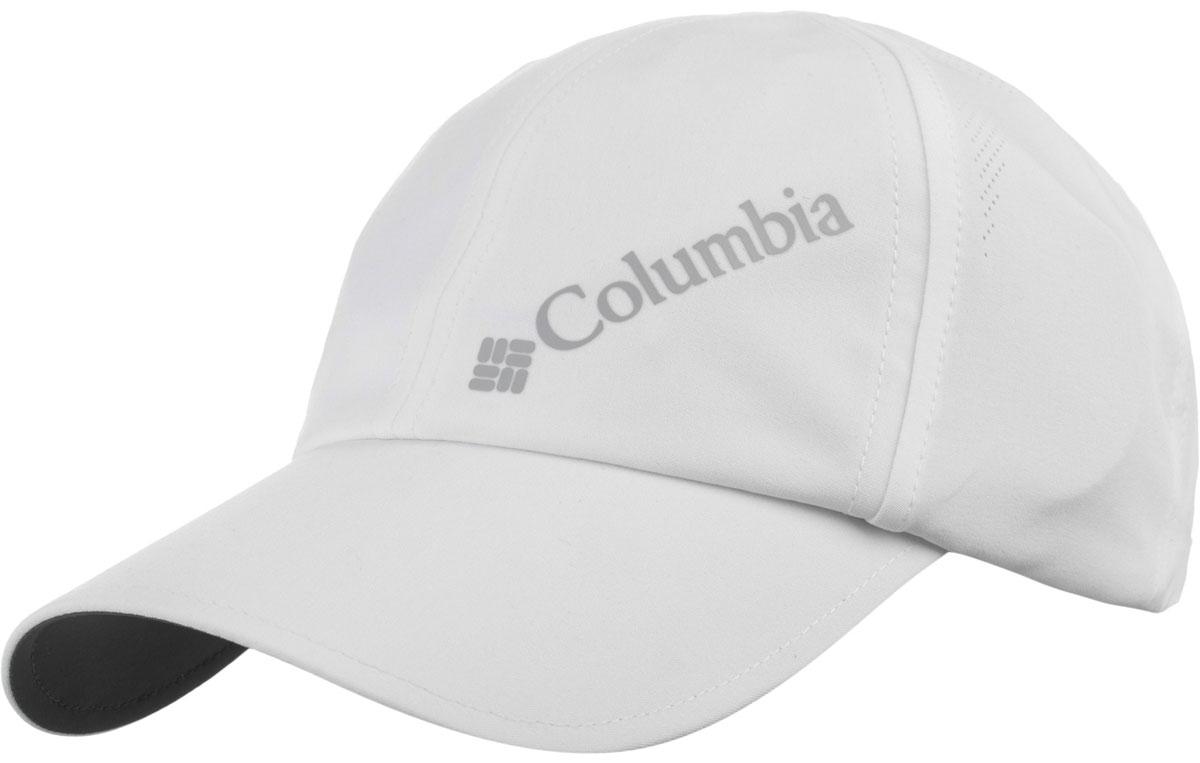 Бейсболка1446941-100Бейсболка женская Columbia — отличный аксессуар для прогулок и активного отдыха. Модель выполнена из легкого синтетического материала с технологией, быстро выводящей испарения на поверхность ткани, а <span class=technology защищает от внешних воздействий на ткань. Наличие в изделии технологии <span class=technology обеспечивает надежную защиту от вредного UV-излучения. Конструкция из шести панелей. Модель на липучке для комфортной посадки.