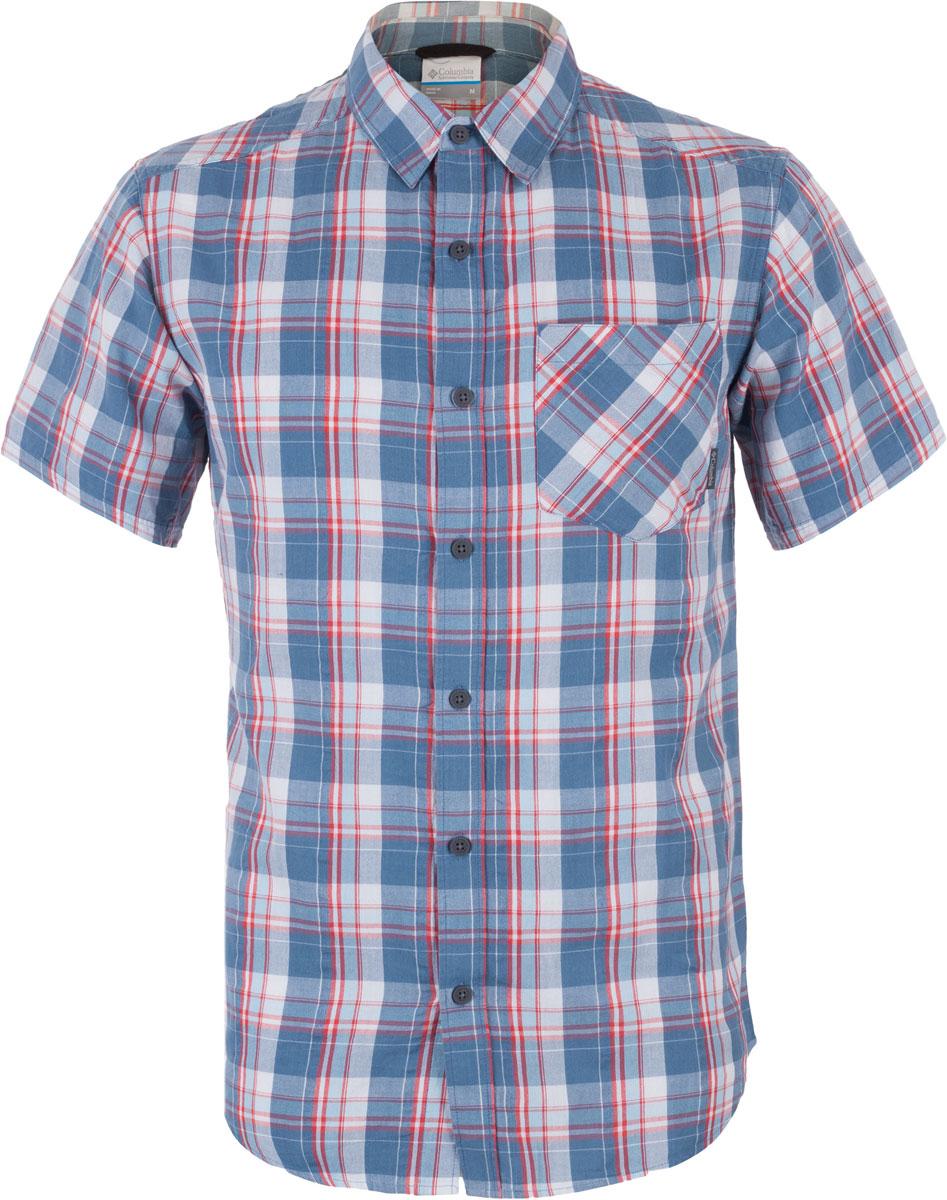 Рубашка1577771-348• Нагрудный карман Regular Fit