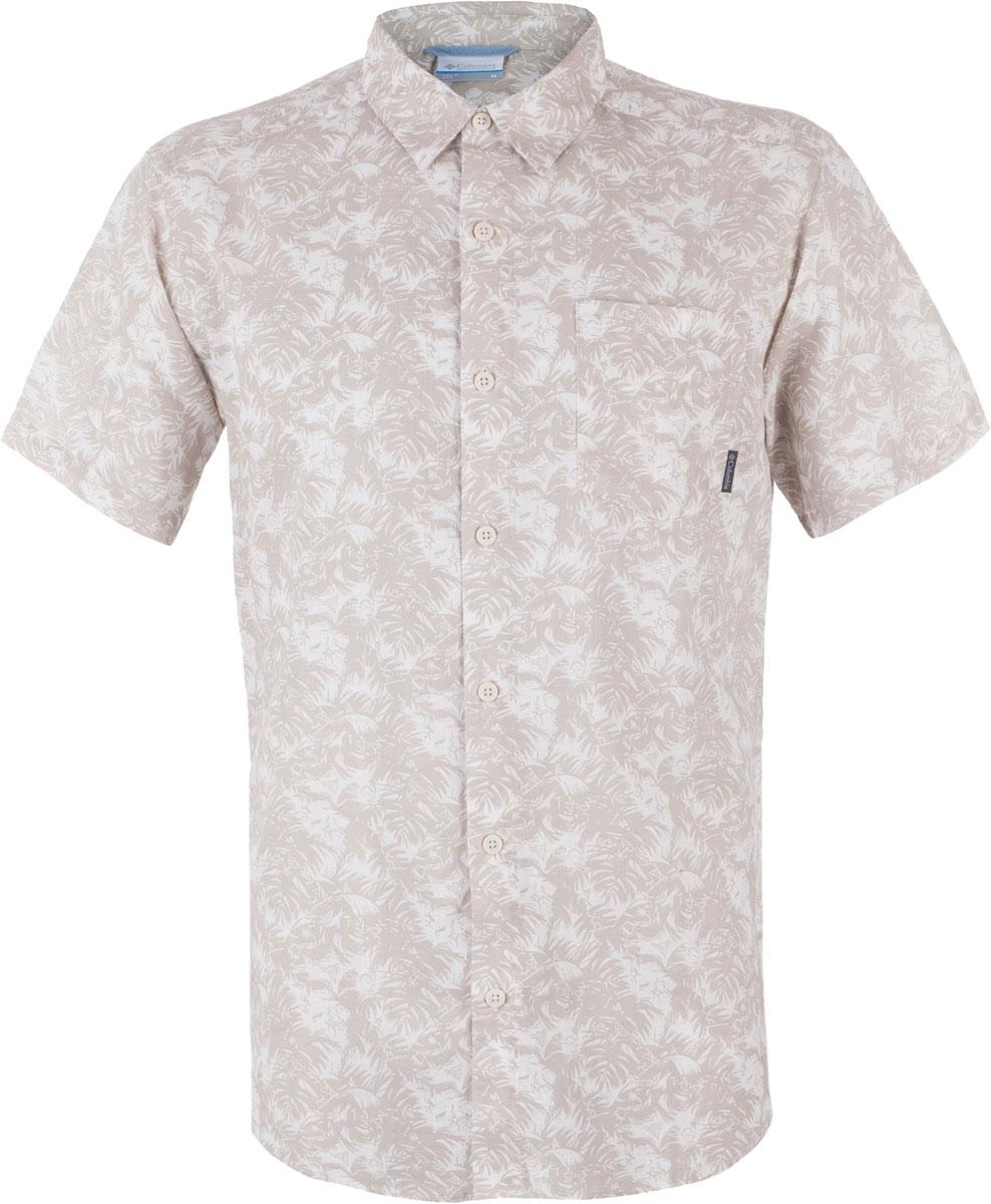 Рубашка1577751-023Мужская рубашка Columbia Under Exposure II SS изготовлена из натурального хлопка. Модель Regular Fit с отложным воротником и короткими рукавами застегивается на пуговицы. Спереди расположен накладной карман.