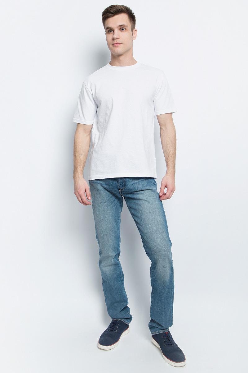 Футболка2209Мужская футболка StarkСotton выполнена из натурального хлопка. Модель с круглым вырезом горловины и короткими рукавами удобна для повседневной носки, а также подходит для занятий спортом.