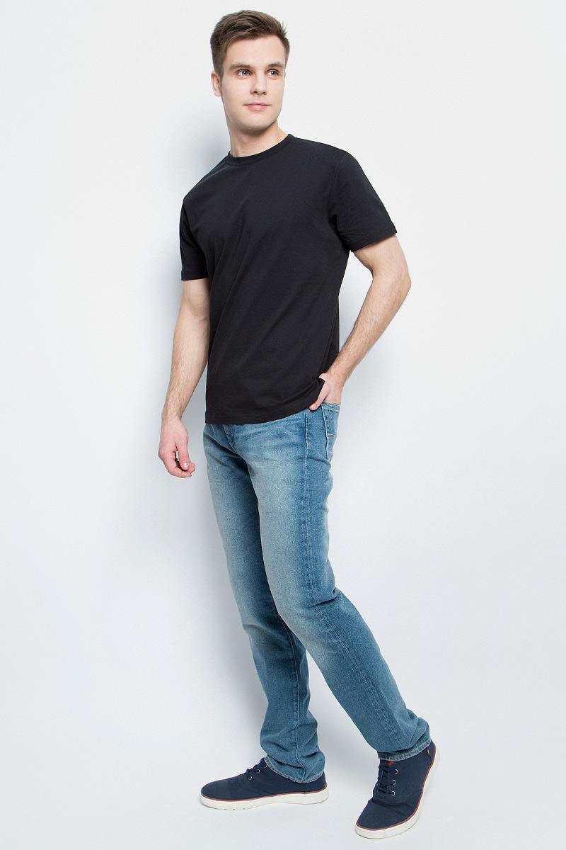 Футболка1210Мужская футболка StarkСotton выполнена из натурального хлопка. Модель с круглым вырезом горловины и короткими рукавами удобна для повседневной носки, а также подходит для занятий спортом.
