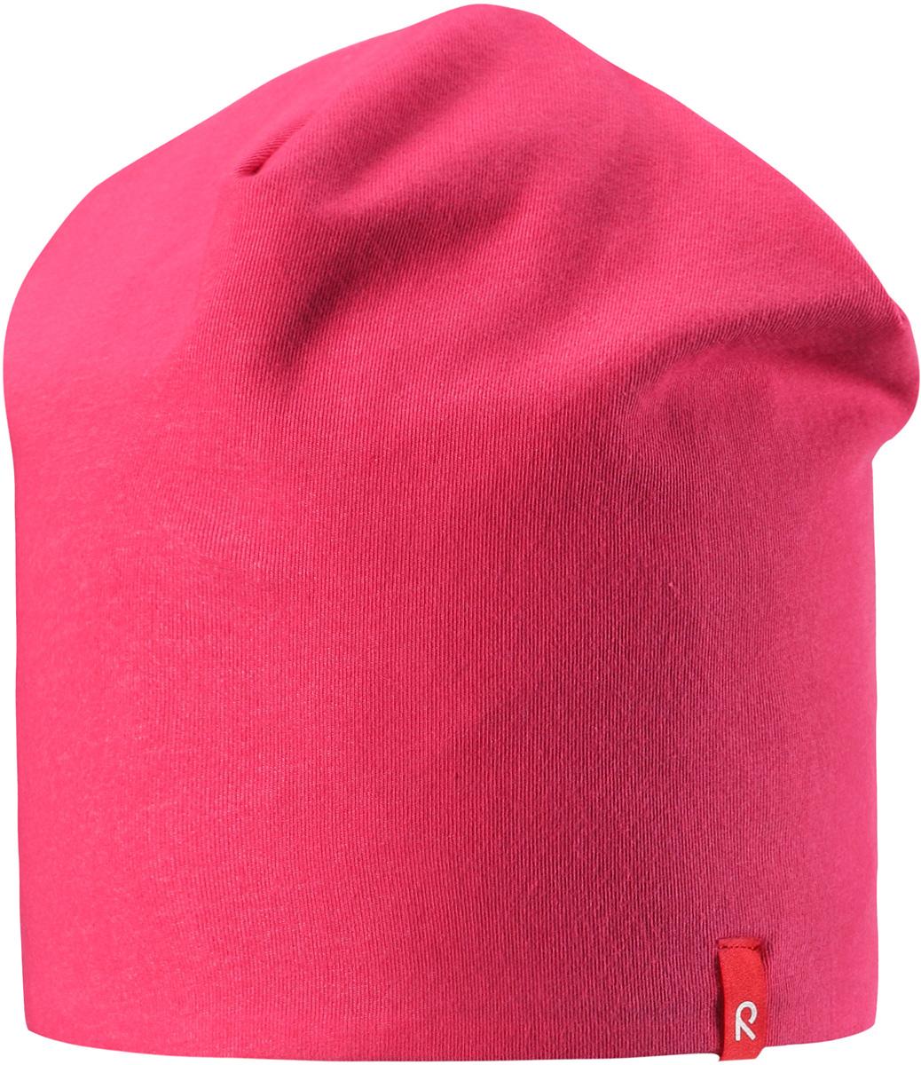 Шапка детская5285133360Легкая двухсторонняя шапочка для малышей яркой расцветки с УФ-защитой 40+. Шапка изготовлена из дышащего и быстросохнущего материла Play Jersey, эффективно выводящего влагу с кожи.
