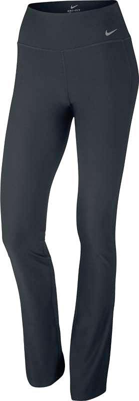 Брюки спортивные846181-010Брюки Nike W Nk Pwr из эластичного плотного текстиля - Nike Power, обеспечивающего компрессию и комфортную поддержку. Подкладка пояса-кокетки на спине из текстиля с технологией Dri-FIT. Плоские швы, широкий эластичный пояс, кокетка на спинке с перфорацией, один внутренний карман сзади, логотип бренда на поясе спереди.