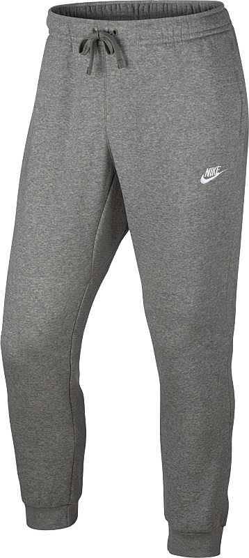 Брюки спортивные804408-063Брюки Nike NSW Jogger FLC Club из толстовочного трикотажа. Мягкий ворс изнутри, эластичные пояс и манжеты, шнуровка, два боковых кармана без застежки, задний карман на липучке.