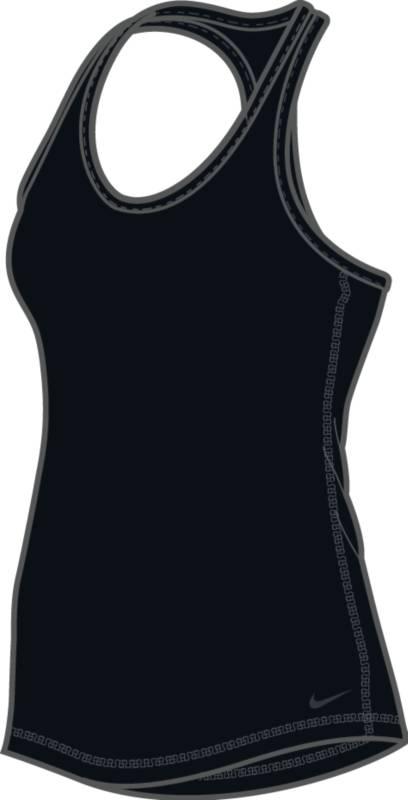 Майка648567-010Женская майка для тренинга Nike Dry с облегающим кроем и Т-образной спиной позволяет полностью сконцентрироваться на тренировке. Технология Dri-FIT обеспечивает вентиляцию и комфорт. Т-образная спина с глубокими вырезами обеспечивает свободу движений. Плотная посадка для безграничного комфорта.