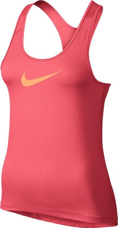 Майка725489-850Майка Nike Pro Cool свободного кроя не сковывает движений, а влагоотводящая ткань Dri-FIT обеспечивает вентиляцию. Спинка-борцовка, эластичные вставки из сетки способствуют вентиляции.