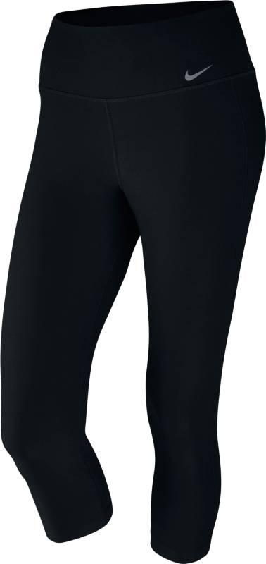 Тайтсы802948-010Бриджи Nike Dry Cpri Ti Poly из эластичного материал Dri-FIT, отводящего влагу с поверхности тела. Облегающий крой, завышенный эластичный пояс внутренний карман на поясе, плоские швы.