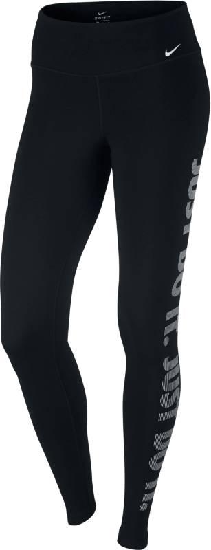 Тайтсы830558-010Тайтсы Nike Womens Dry из функционального материала Dri-FIT, который обеспечивает комфорт. Вставка в области шагового шва увеличивает диапазон движений, отвороты с плотной посадкой позволяют полностью сконцентрироваться на спорте.
