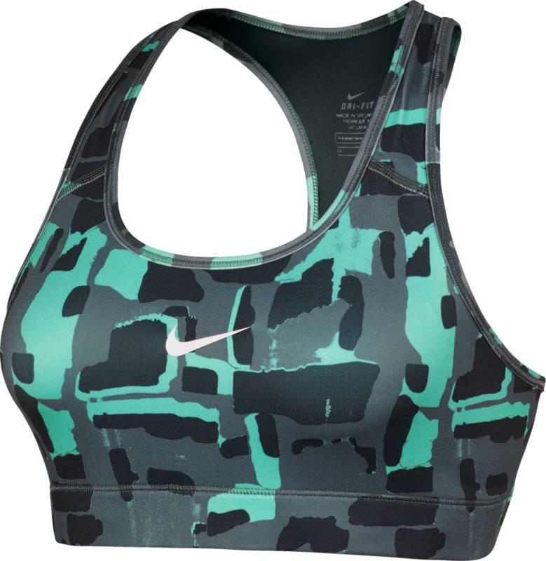 Топ805547-364Топ Nike Victory Cmprsn из эластичного текстиля с технологией Dri-Fit. Функциональная ткань отводит влагу от тела, оставляя кожу сухой. Прилегающий крой, высокая степень поддержки, облегченная сетчатая спинка-борцовка, конструкция плоских швов.