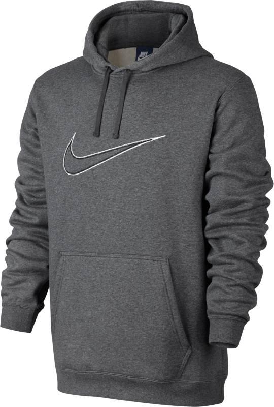 Худи804656-073Джемпер Nike M Nsw Hoodie из мягкого хлопкового трикотажа, ворсистая внутренняя отделка. Прямой крой; капюшон на шнурке; карман-кенгуру.