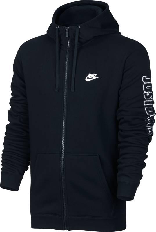 Худи804664-010Джемпер Nike M Nsw Hoodie из мягкого хлопкового трикотажа, ворсистая внутренняя отделка. Прямой крой, капюшон на шнурке, карман-кенгуру, вышивка с логотипом бренда.