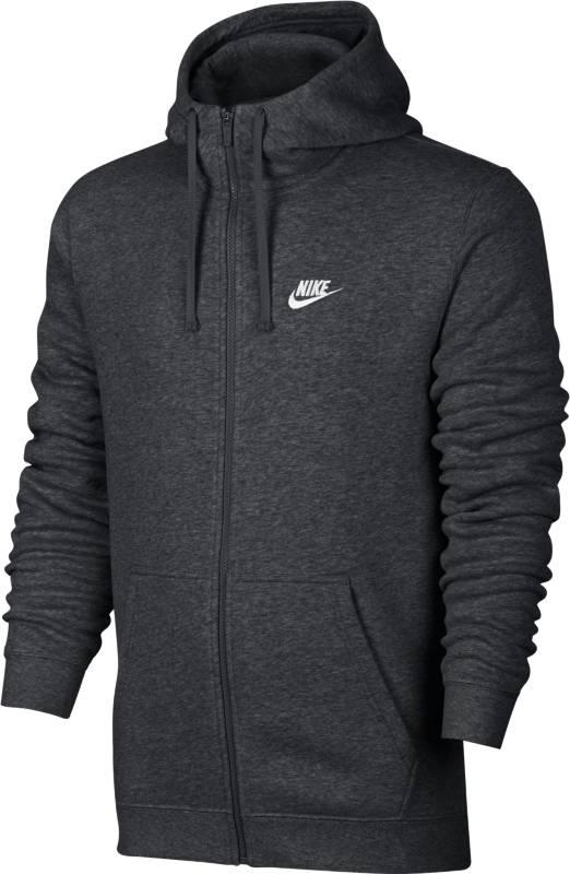 Худи804389-071Мужская худи Nike Sportswear обеспечивает абсолютный комфорт без утяжеления. Модель выполнена из мягкой флисовой ткани с обновленной узкой нижней кромкой и манжетами для аккуратного вида. Флисовая ткань с начесом по изнаночной стороне для дополнительной мягкости. Узкая нижняя кромка и манжеты из рубчатой ткани для аккуратного вида. Слева на груди вышит логотип Nike. Двойная строчка создает стильный образ.