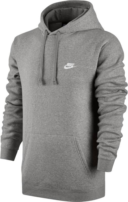 Худи804346-063Джемпер Nike M Nsw Hoodie из мягкого хлопкового трикотажа с махровой внутренней отделкой. Прямой крой, капюшон с козырьком, карман-кенгуру, рукава-реглан.