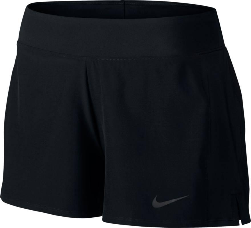 Шорты728785-010Шорты Nike Baseline Short с дополнительными эластичными шортиками внутри. Технология Dri-Fit отводит влагу на поверхность ткани. Эластичный пояс, небольшие разрезы по бокам.