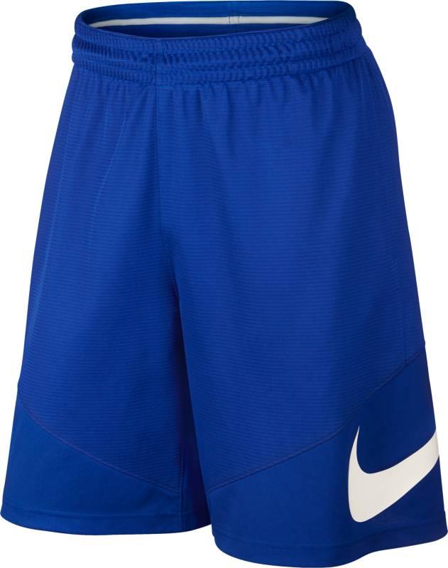 Шорты718830-100Шорты Nike HBR Short из мягкого текстиля. Свободный крой, на эластичном поясе, фирменный логотип