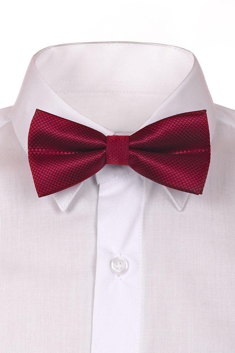 ГалстукRBAB02-2Модный галстук-бабочка для мальчика Brostem изготовлен из качественного полиэстера. Такой аксессуар придаст юному кавалеру солидности.