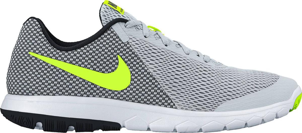 Кроссовки881802-005Обувь для бега Nike Flex Experience отличается плотной посадкой. Однослойная сетка для оптимальной вентиляции в передней части стопы. Инжектированная цельная подошва для амортизации без утяжеления.