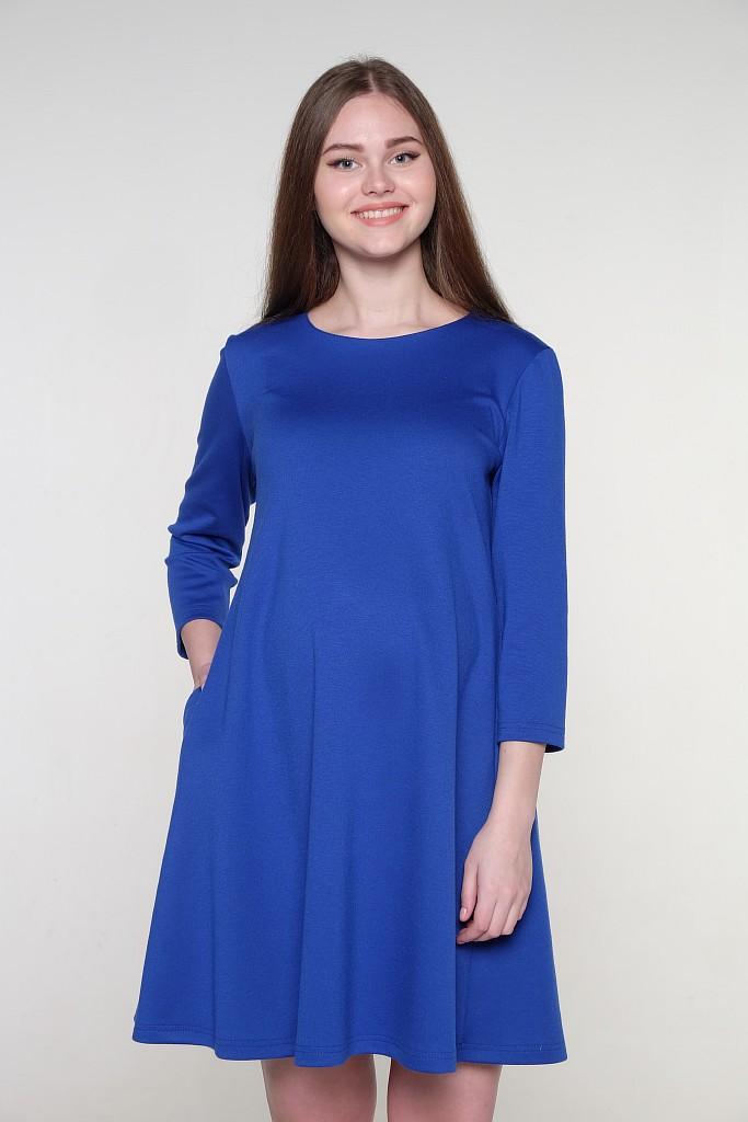 Платье2-НМ 34711Стильное платье для беременных свободного покроя. Рукав 3/4, округлый вырез горловины.