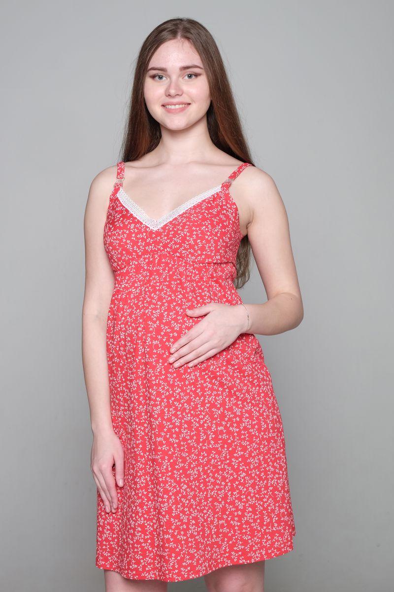 Ночная рубашка1-НМП 21601Ночная сорочка Hunny Mammy изготовлена из натурального хлопка. Модель с V-образным вырезом горловины и удобным секретом для кормления создана для максимального комфорта будущих и кормящих мам. Удобная конструкция лифа позволит носить сорочку без бюстгальтера. Сорочка с регулируемыми бретелями имеет застежки-клипсы. Небольшая сборочка под грудью идеально лежит на беременном животике и обеспечивает комфорт и удобство. Сорочка оформлена принтом и украшена изящным кружевом.