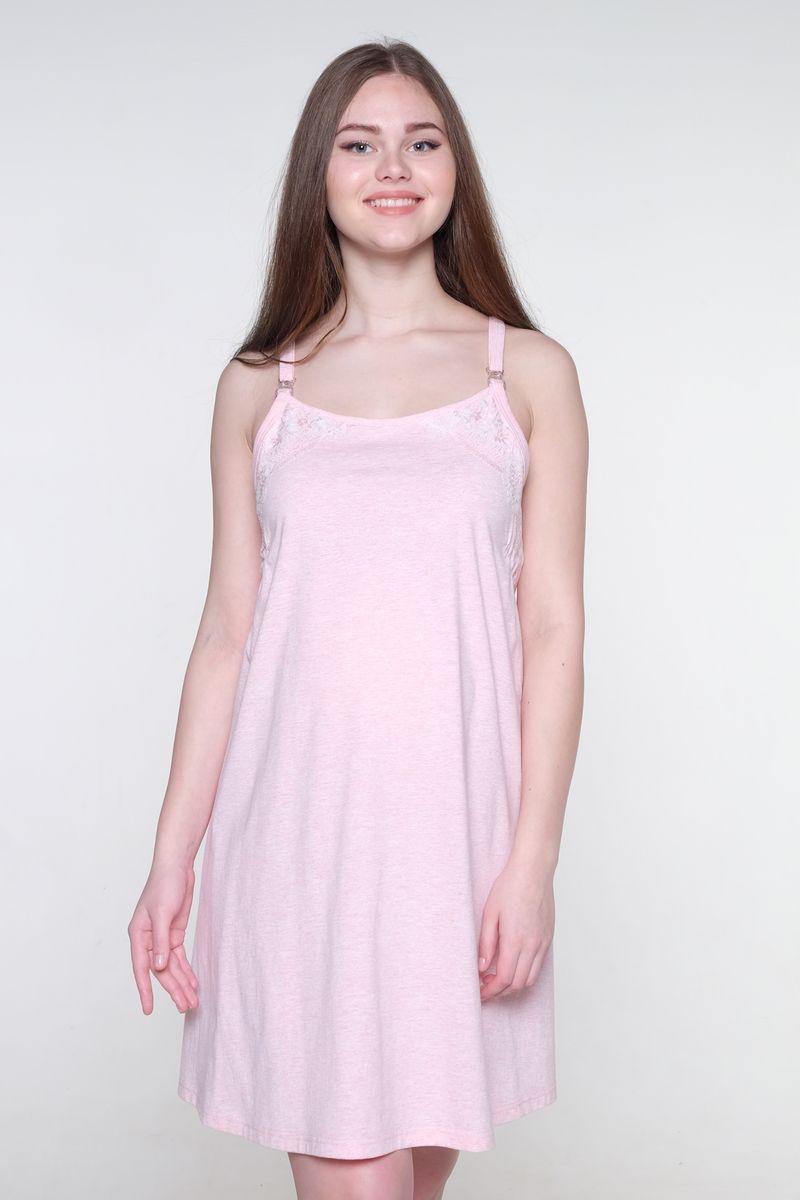 Ночная рубашка1-НМП 20101Великолепная сорочка выполнена из хлопкового материала. Отстегивающиеся бретели обеспечат удобство во время кормления малыша. Практичная модель позволит беременной женщине или кормящей маме чувствовать себя комфортно в любой ситуации.