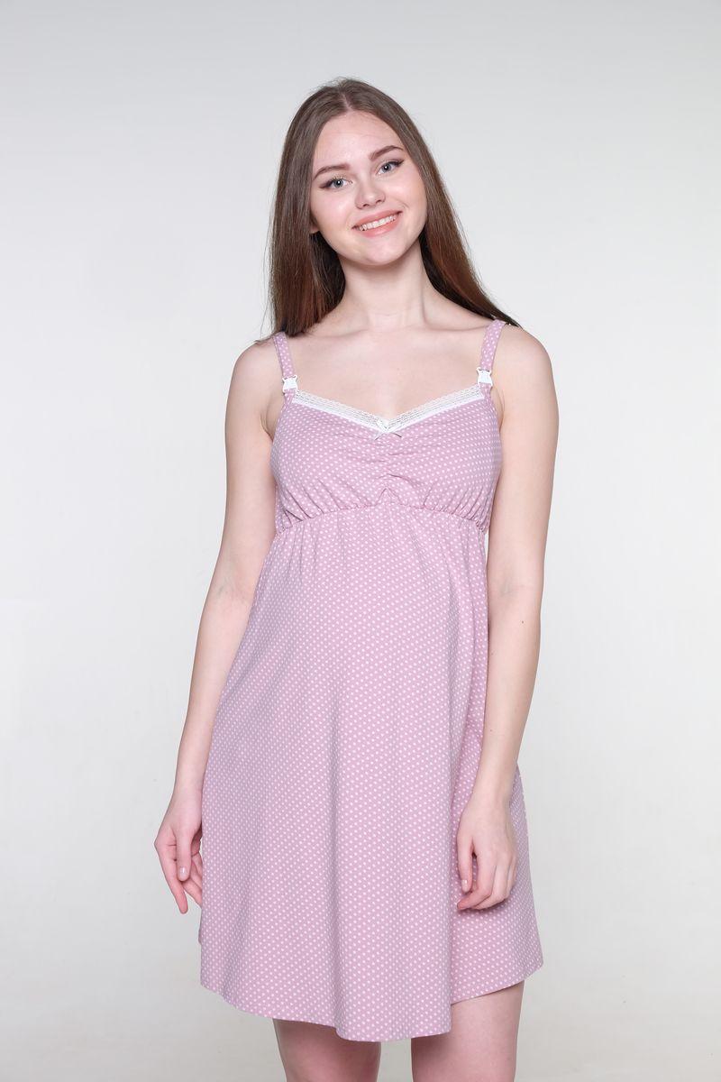 Ночная рубашка1-НМП 20002Нежная сорочка для беременных и кормящих мам Hunny Mammy изготовлена из эластичного хлопка. Модель с V-образным вырезом горловины оформлена принтом, декорирована кружевом. Для кормления предусмотрены удобные застежки-клипсы. Такая сорочка будет вас радовать не только в период беременности, но и после.