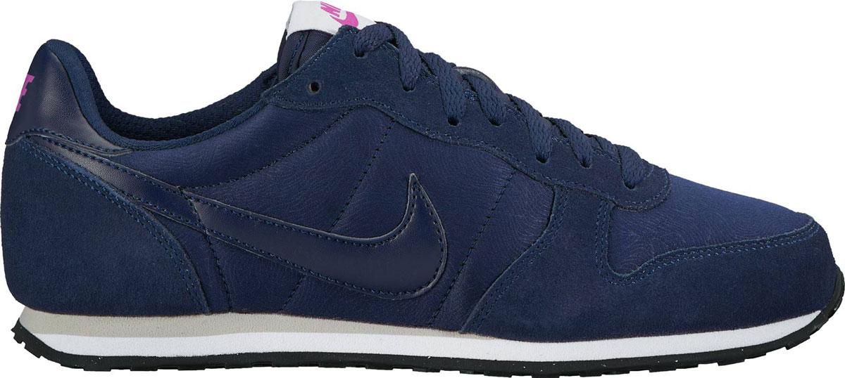 Кроссовки644451-400Кроссовки Nike WMNS из текстиля и натурального велюра. Шнуровка, текстильная внутренняя отделка, резиновая подошва.