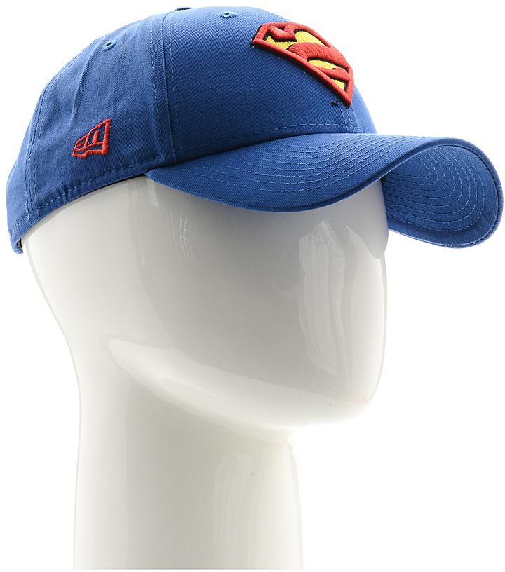 Бейсболка11379827-BLUСтильная бейсболка New Era, выполненная из высококачественного материала, идеально подойдет для прогулок, занятий спортом и отдыха. Изделие оформлено объемным вышитым логотипом знаменитого супергероя Супермена и логотипом бренда New Era. Бейсболка надежно защитит вас от солнца и ветра. Эта модель станет отличным аксессуаром и дополнит ваш повседневный образ.
