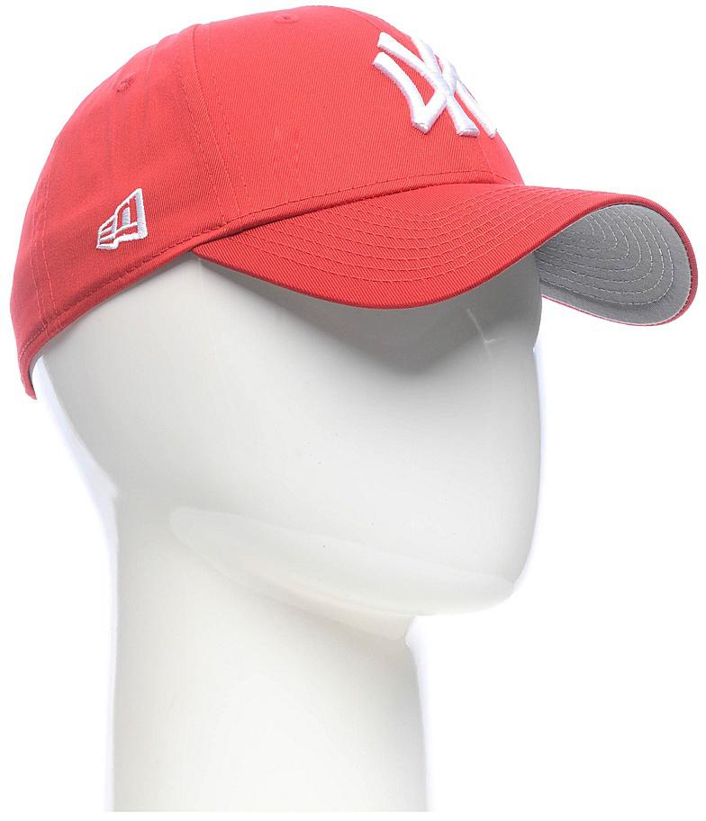Бейсболка11210280-SCAСтильная бейсболка New Era, выполненная из высококачественного материала, идеально подойдет для прогулок, занятий спортом и отдыха. Изделие оформлено объемным вышитым логотипом знаменитой бейсбольной команды New York Yankees и логотипом бренда New Era. Бейсболка надежно защитит вас от солнца и ветра. Эта модель станет отличным аксессуаром и дополнит ваш повседневный образ.