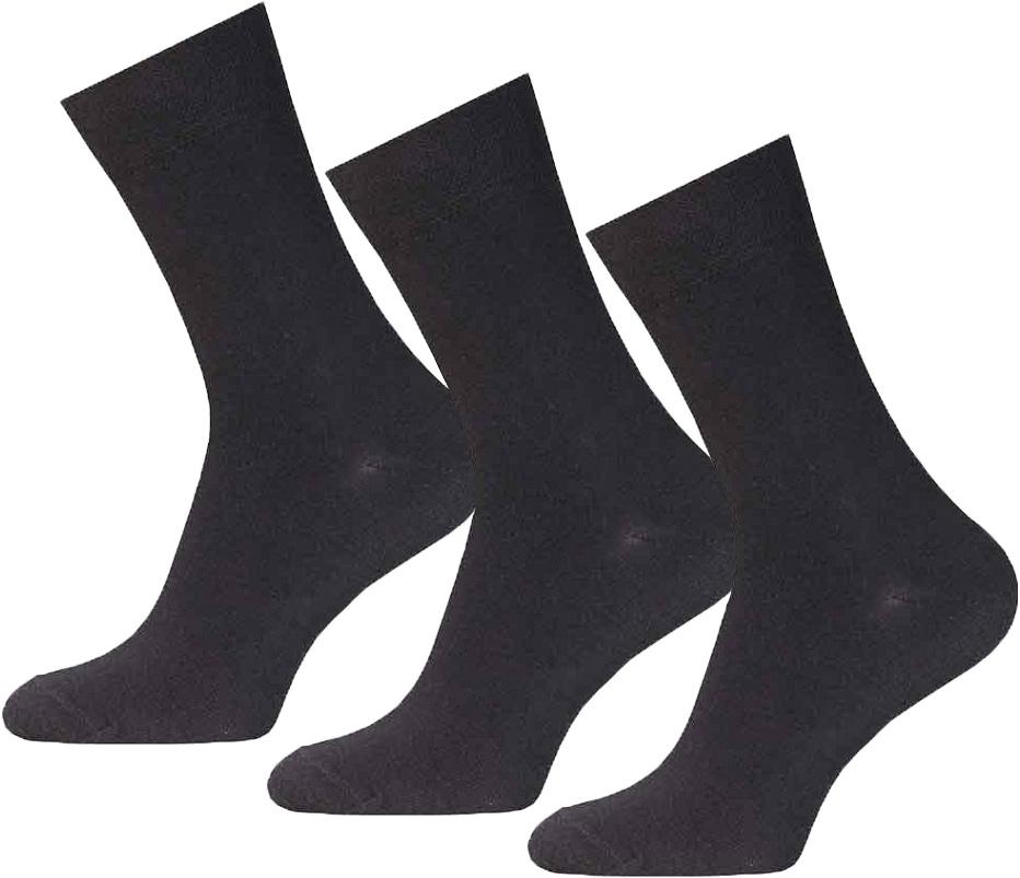 Комплект носков14С2122-000Носки мужские гладкие, двойной борт, без рисунка.