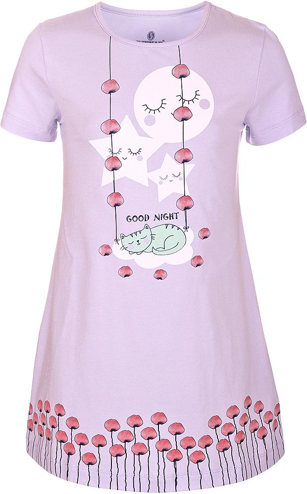 Ночная рубашкаN9322216A-59Ночная рубашка для девочки Baykar подарит не только комфорт и уют, но и понравится ребенку благодаря своему веселому и приятному дизайну. Изготовленная из мягкого хлопка, она тактильно приятна, хорошо пропускает воздух, а благодаря свободному крою не стесняет движений во сне.