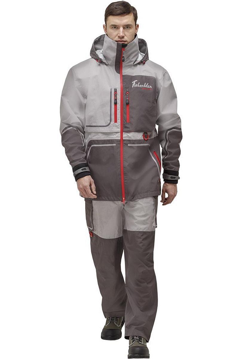Куртка рыболовная95937-55Практичная и надежная куртка FisherMan Nova Tour выполнена специально для рыбалки. Куртка с воротником-стойкой и съемным капюшоном застегивается на пластиковую молнию. Изделие дополнено врезными карманами на молниях. Такая куртка, пожалуй, лучшая защита от непогоды.