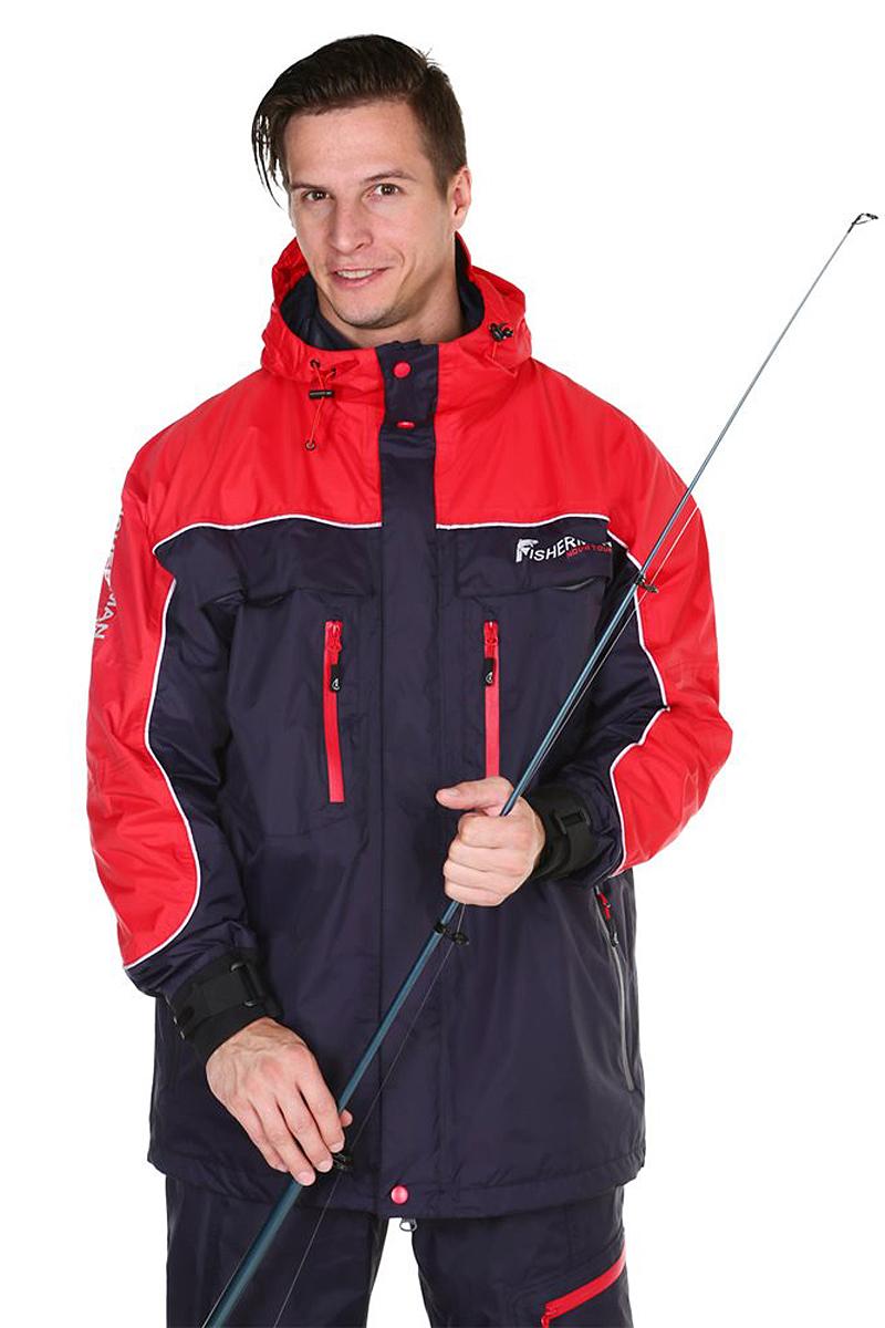 Куртка рыболовная95428-924Удлиненная куртка FisherMan Nova Tour для любителей береговой рыбалки. У куртки анатомический крой, это обеспечивает свободу движения. Полностью влагозащищенные манжеты, вода не будет попадать внутрь в дождь или даже тогда, когда вы опустите руку в воду! Куртка с мембраной 10000/10000 и проклеенными швами, оставит вас сухим в любой дождь, а также обеспечит эффективную паропроводимость. У куртки есть карманы для рук и нагрудные карманы для необходимых принадлежностей. Если от активной рыбалки стало по-настоящему жарко, воспользуйтесь предусмотренной вентиляцией!