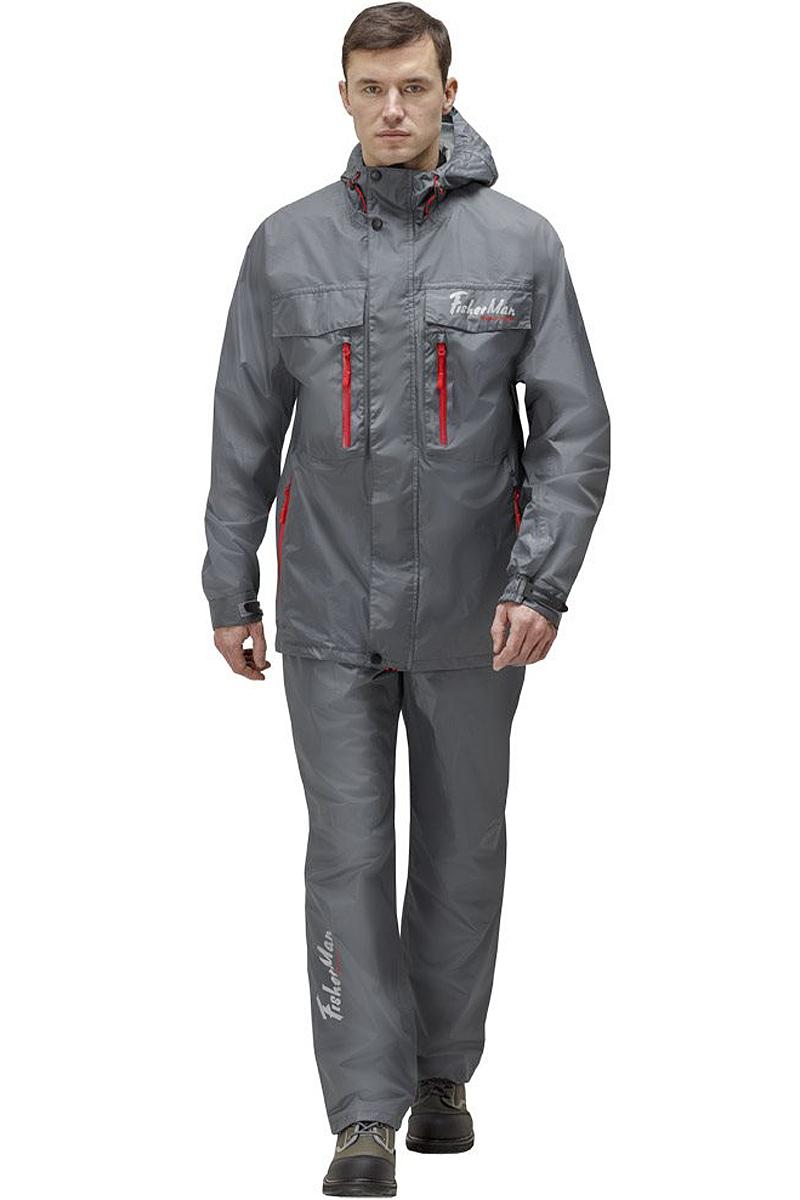 Куртка рыболовная95935-911Практичная и надежная куртка FisherMan Nova Tour выполнена специально для рыбалки из качественного полиэстера. Куртка с воротником-стойкой и капюшоном застегивается на молнию и планку с кнопками. Изделие дополнено карманами. Такая куртка, пожалуй, лучшая защита от непогоды.