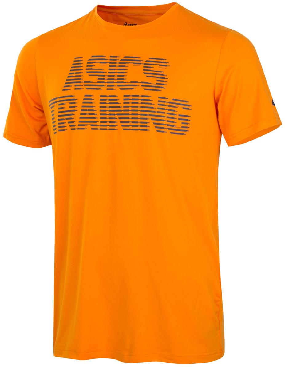 Футболка131446-0524Приступайте к тренировке в футболке, которая создана для интенсивных нагрузок. Логотип спереди поможет вам почувствовать себя частью клуба ASICS. Мягкий и легкий материал быстро отводит пот от кожи. В универсальной футболке для зала и улицы можно тренироваться где угодно. Комфортное расположение швов исключает натирание. Принт ASICS TRAINING спереди говорит сам за себя.