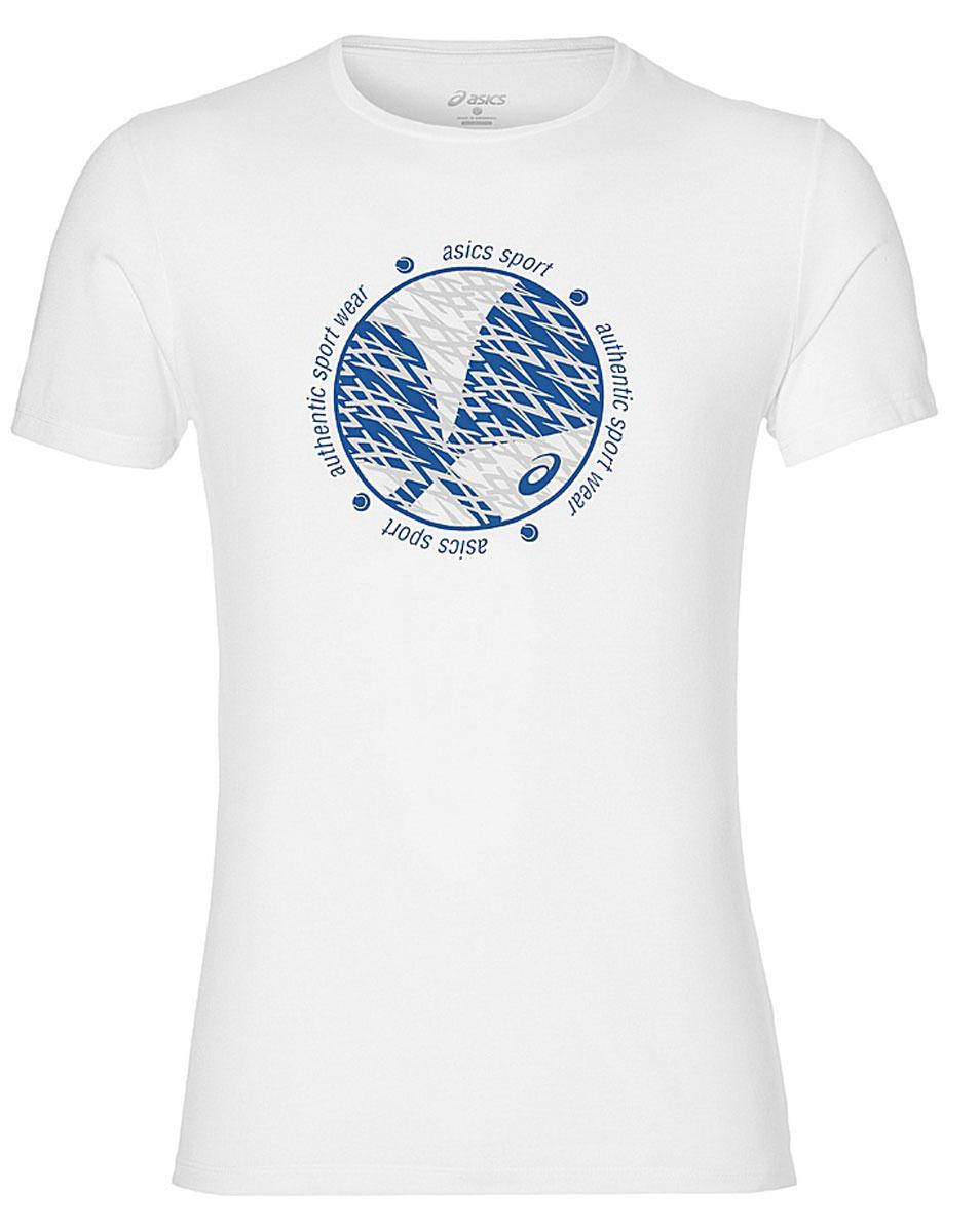 Футболка141169-0001Футболка для тенниса мужская Asics Padel Gpx Top выполнена из полиэстера и вискозы. Модель с круглым вырезом горловины и короткими рукавами.