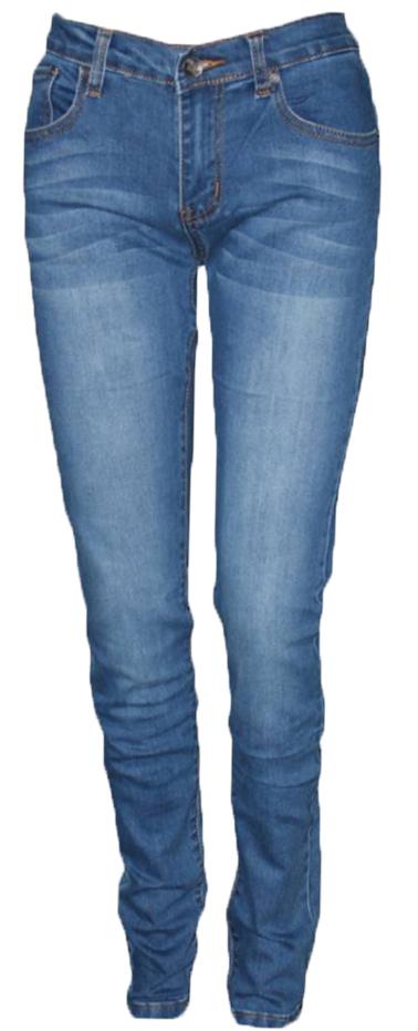 ДжинсыWZ-1001C-2_25/30*06Стильные женские джинсы Milton выполнены из хлопка с добавлением полиэстера и спандекса. Материал мягкий на ощупь, не сковывает движения и позволяет коже дышать. На поясе предусмотрены шлевки для ремня. Джинсы со средней посадкой застегиваются на пуговицу в поясе и ширинку на застежке-молнии.