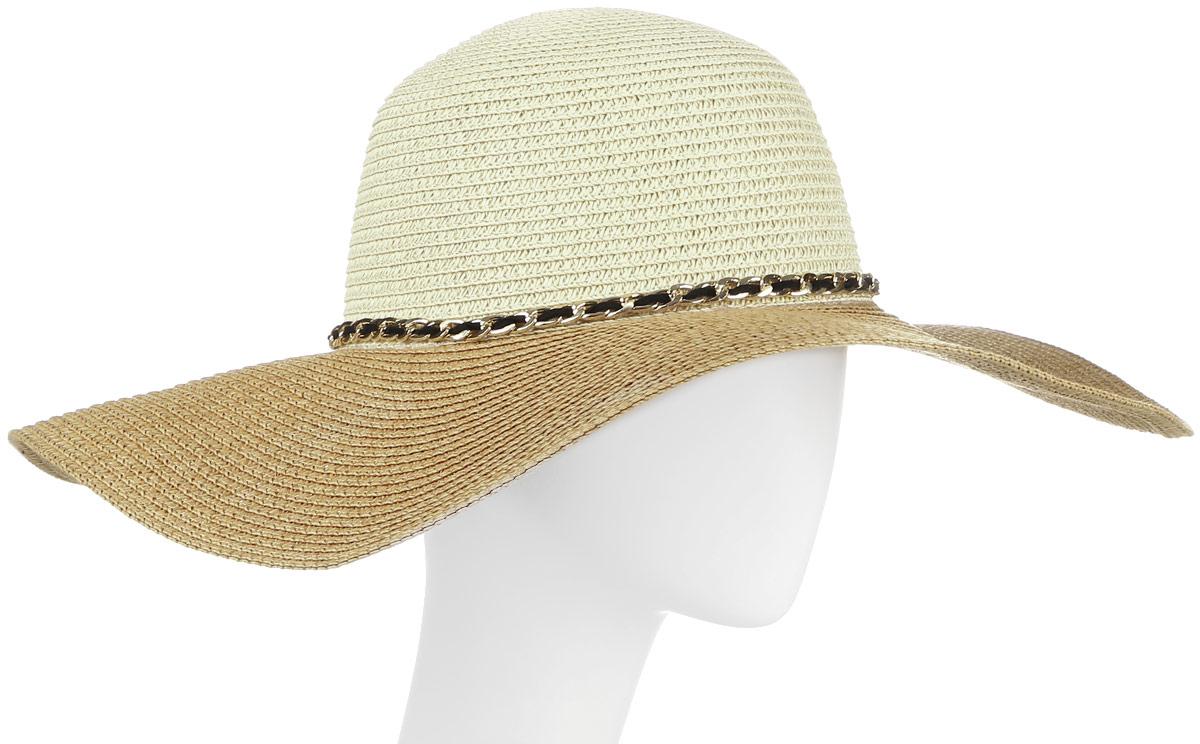 ШляпаHtW100288Шляпа с широкими полями и бантом.