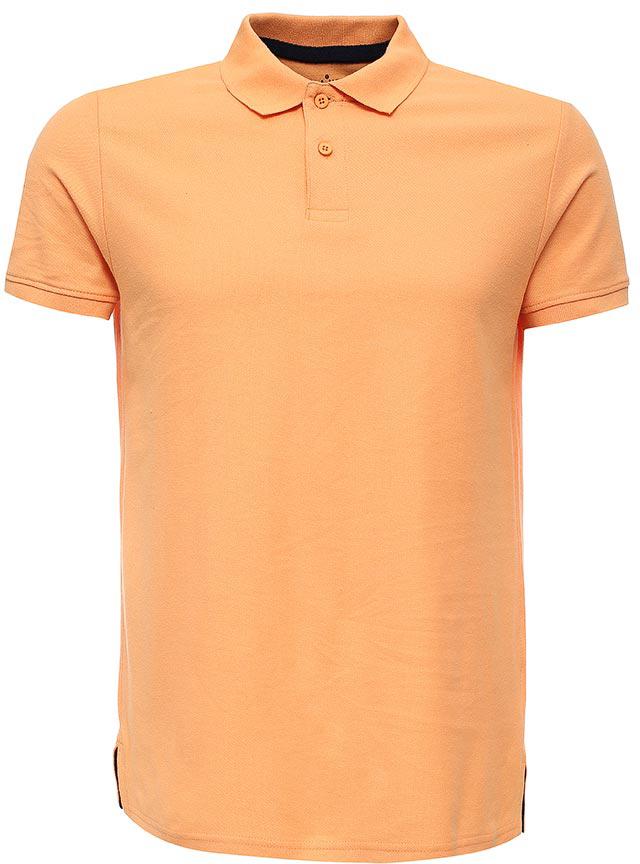 ПолоTsp-211/2057-7223Стильная мужская футболка-поло Sela, выполненная из натурального хлопка, станет отличным дополнением гардероба в летний период. Модель полуприлегающего кроя с разрезами по бокам застегивается на пуговицы до середины груди. Яркий цвет модели позволяет создавать стильные образы.