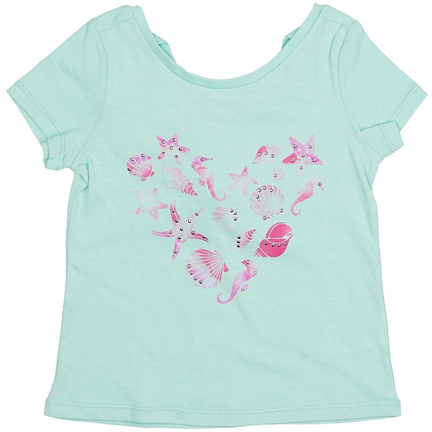 ФутболкаTs-511/415-7233Яркая футболка для девочки Sela станет отличным дополнением к гардеробу юной модницы. Модель прямого кроя изготовлена из натурального хлопка и оформлена оригинальным принтом и стразами. Изделие имеет глубокий вырез на спинке, оформленный завязками. Воротник дополнен мягкой эластичной бейкой.