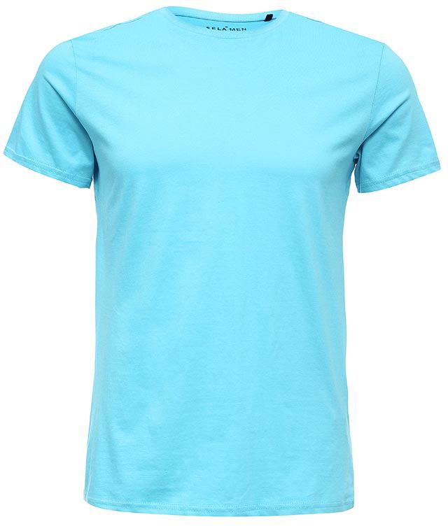 ФутболкаTs-211/1136-7223Стильная мужская футболка полуприлегающего силуэта Sela изготовлена из однотонного натурального хлопка. Воротник дополнен мягкой трикотажной резинкой. Универсальный цвет позволяет сочетать модель с любой одеждой.